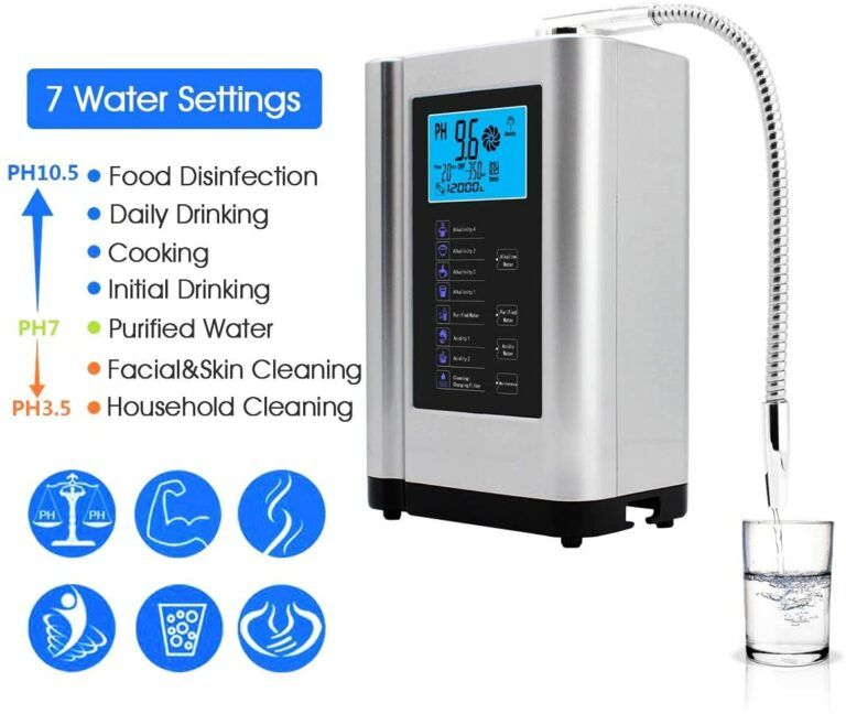 How to Improve Health with Water Ionisers